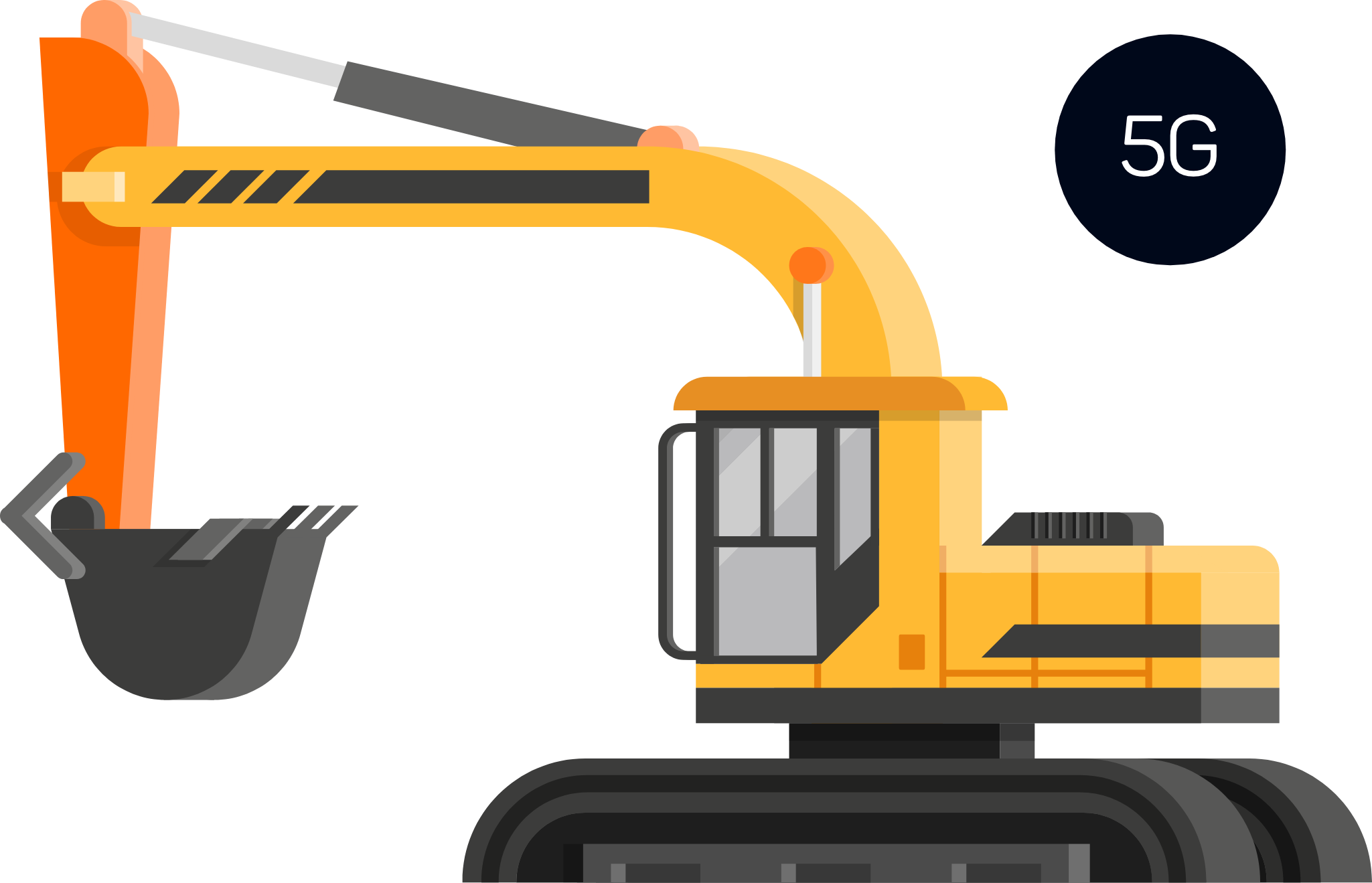 Icon 5G crane