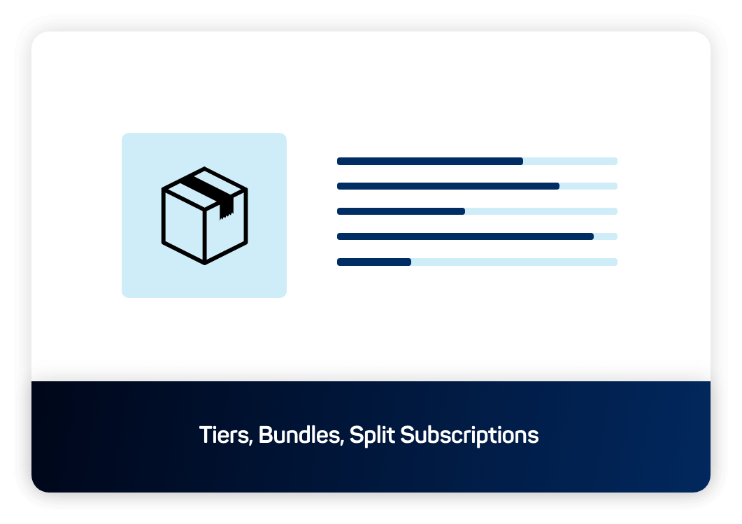 icon Tiers, Bundle, Flexible logic